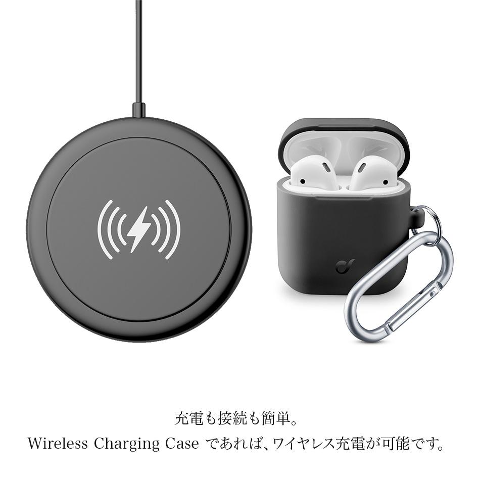 充電も接続も簡単。Wireless