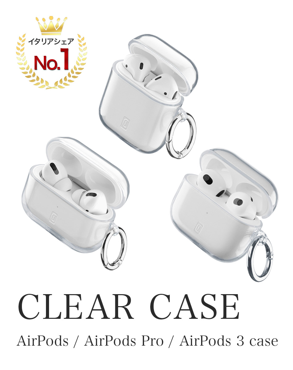 CLEAR CASE AirPods / AirPods Pro case