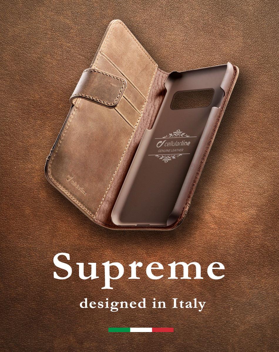 Supreme designed in Italy