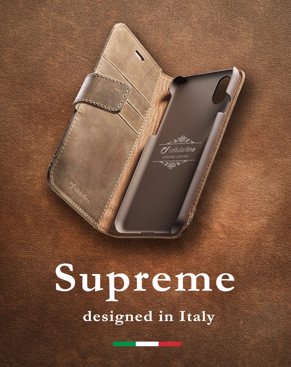 Supreme designed in Italy