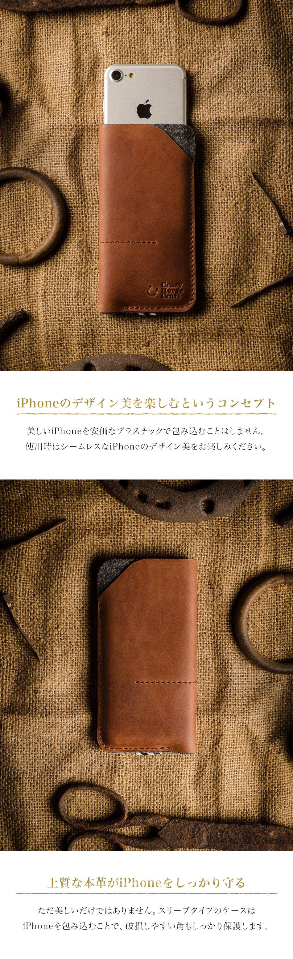 iPhoneのデザイン美を楽しむというコンセプト