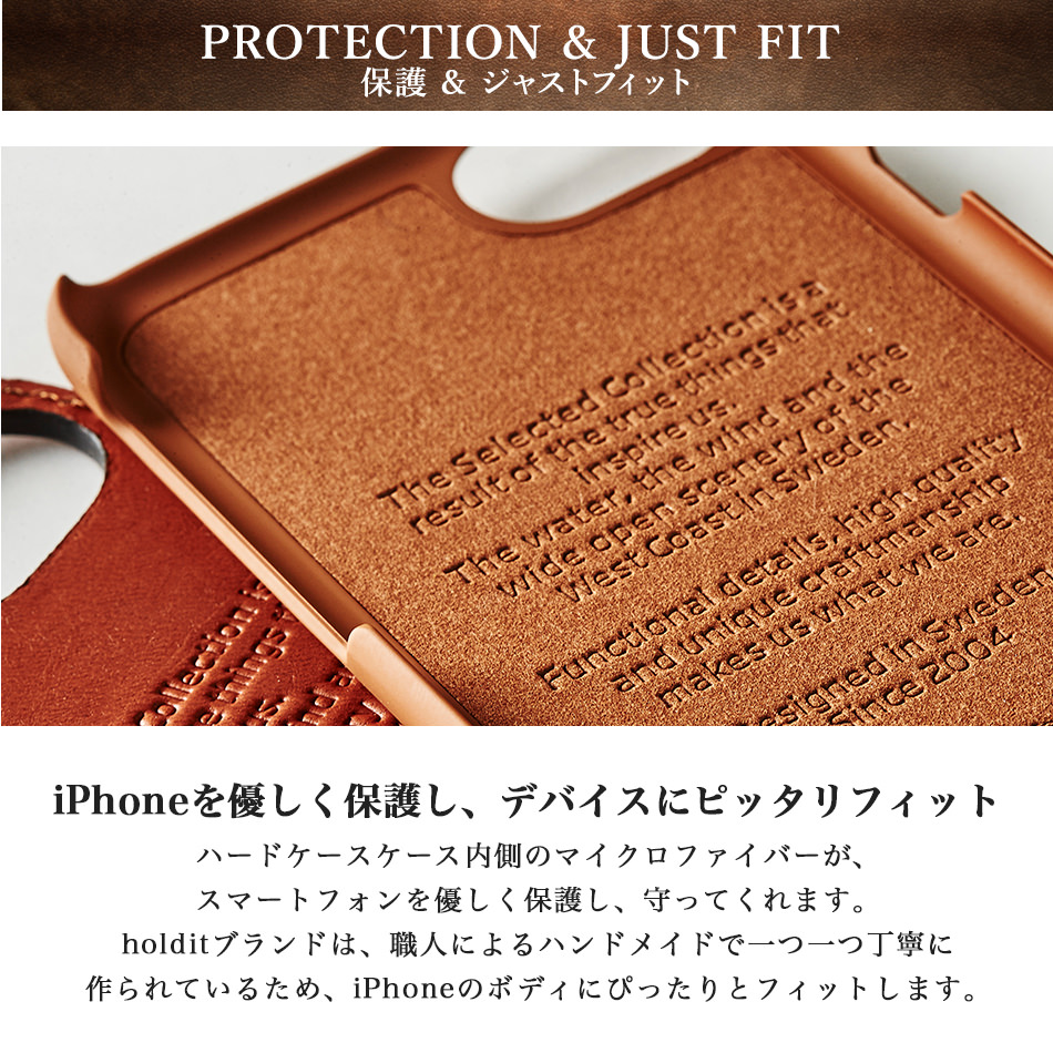 PROTECTION & JUST FIT 保護 & ジャストフィット