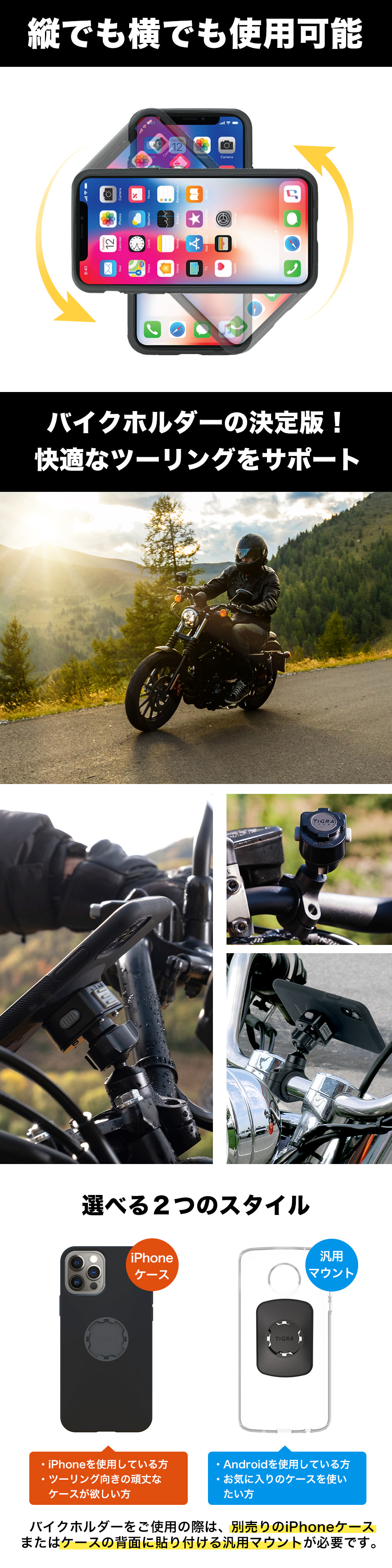 MOUNT CASE MOTORCYCLE