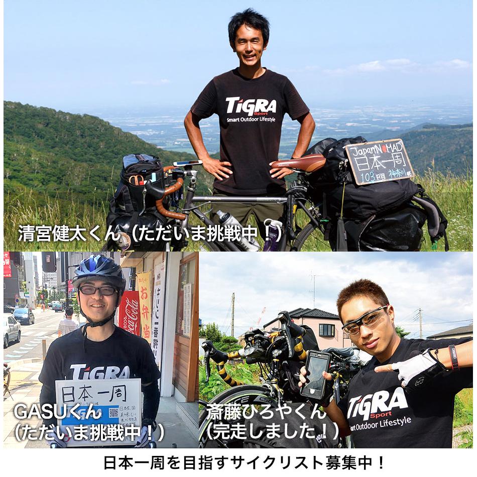 自転車日本一周スポンサード